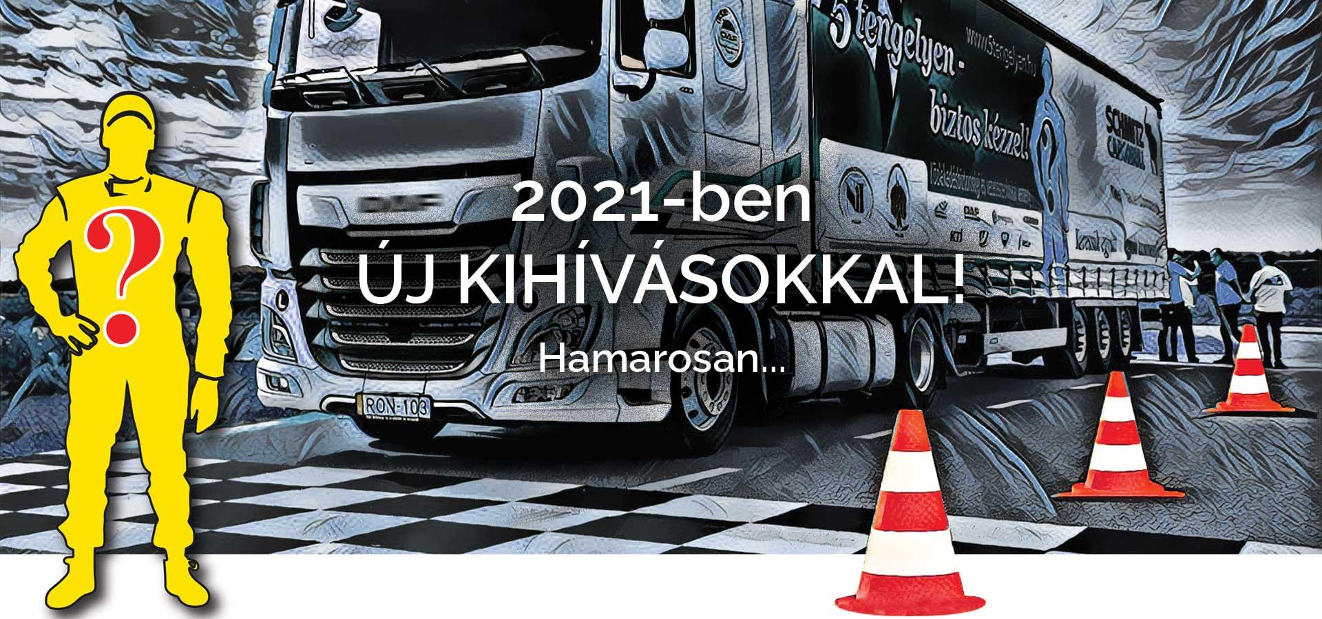 5 tengelyen rajzos kamion 2021